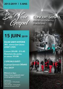 sa'voie gospel 2019 Sounds So Beautiful
