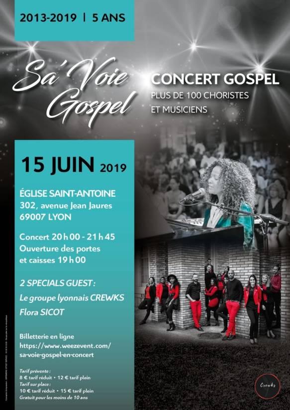 Sa'Voie Gospel - Un Spectacle Inédit Qui Laissera Sans Voix 1