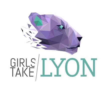 girls take lyon logo