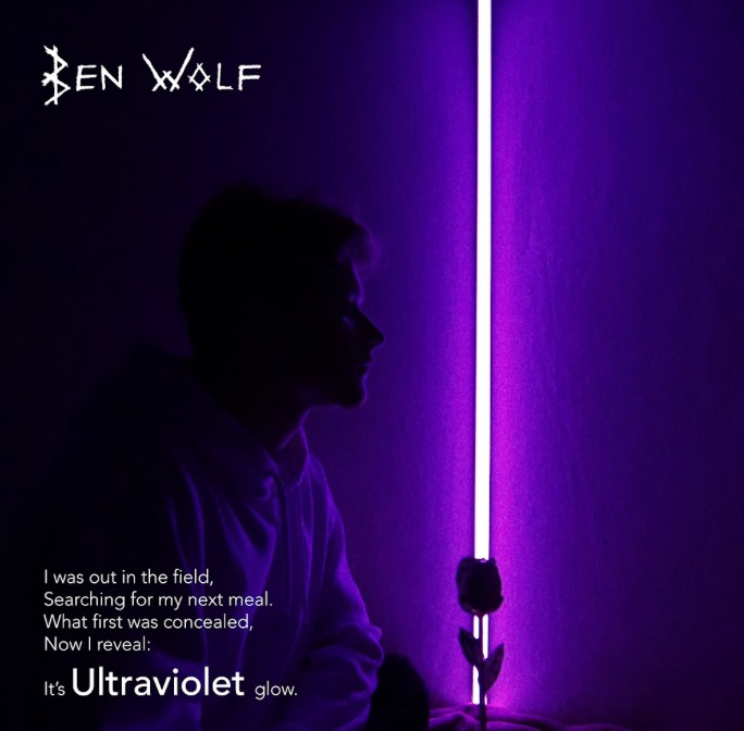 Ben Wolf's new single, «Ultraviolet» is an Invitation to do what you Love