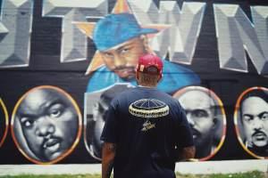 Le$ H-Town-Mural