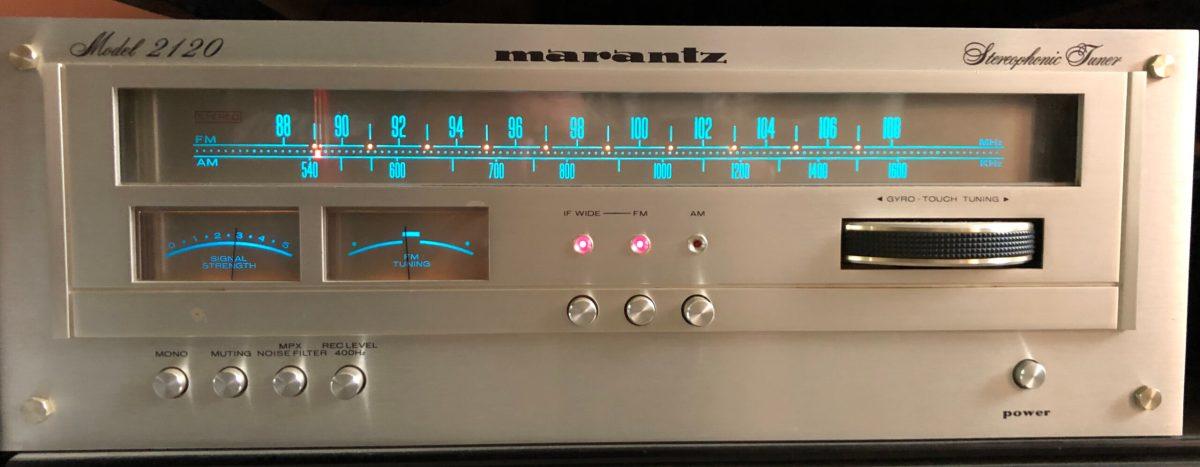 Marantz Model 2120 FM Tuner