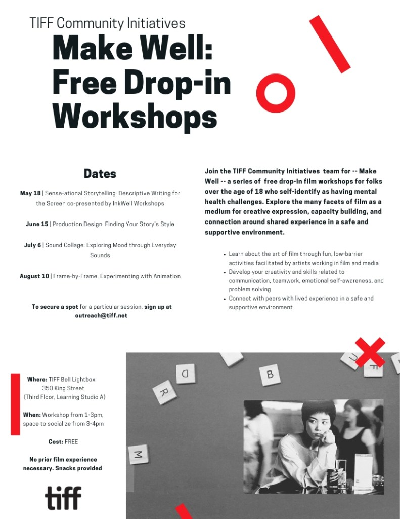 Tiff Workshop poster. See text in the post.