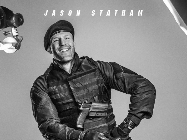 Jason Statham in Expendables 3 - Movie Poster
