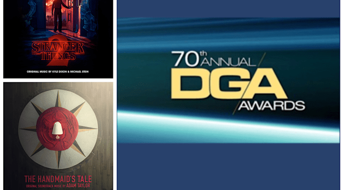 DGA Awards 2018: TV's 'Master Of None', 'Stranger Things', 'The Handmaid's Tale', 'The Wizard Of Lies' and Documentary 'City Of Ghosts' Receive Nominations!
