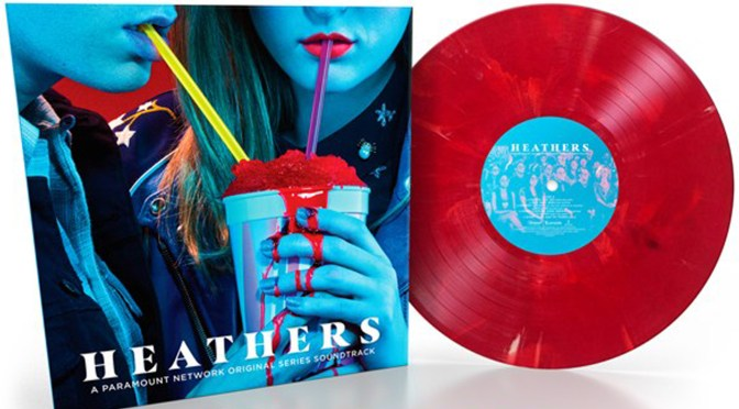 EXCLUSIVE! Heathers Soundtrack, Urban Outfitters Exclusive 'Red Slushie' Vinyl! Pre-Order Now!