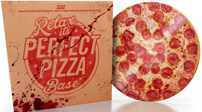 'Slice' Soundtrack, Pizza Picture Disc Vinyl! Score By Ludwig Göransson & Nathan Matthew David | The Vinyl Factory