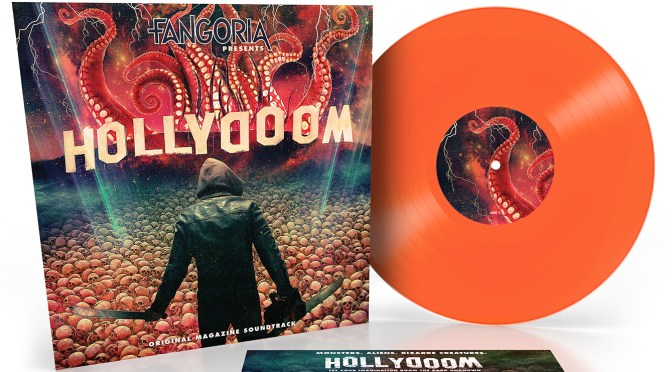 Fangoria Presents: Hollydoom – Vinyl Revealed In The Latest Print Issue!