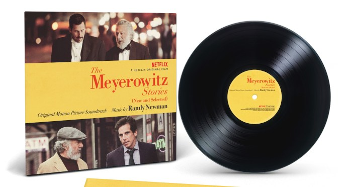 The Meyerowitz Stories (New and Selected) Soundtrack Vinyl - Randy Newman | Lakeshore Records