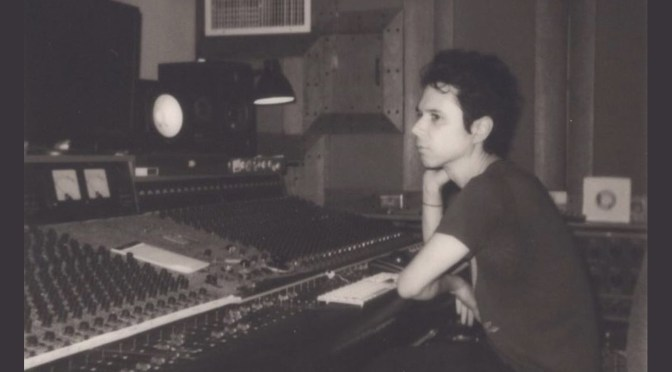 Nick Zinner (photto credit: Dana Boulos) - in studio | Knives and Skin Soundtrack