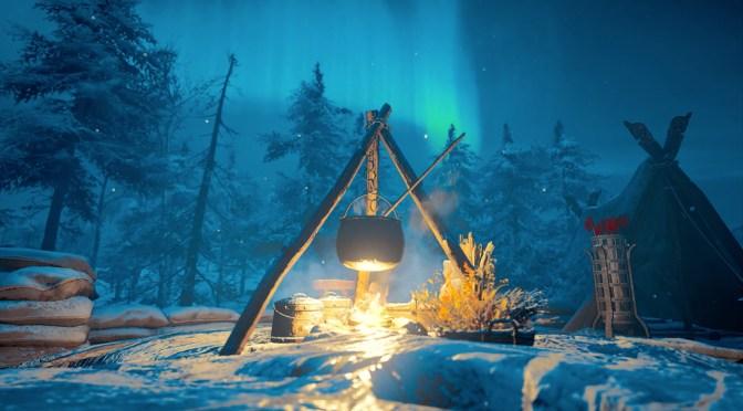 Valhalla Fireplace Like A Viking