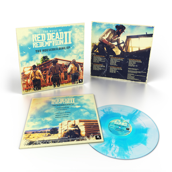 The Music of Red Dead Redemption 2: The Housebuilding EP Vinyl | Lakeshore Records & Roxkstar Games