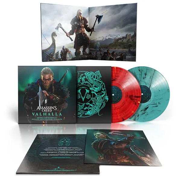 Assassin's Creed Valhalla: Original Game Soundtrack Vinyl | Lakeshore Records, Ubisoft Music