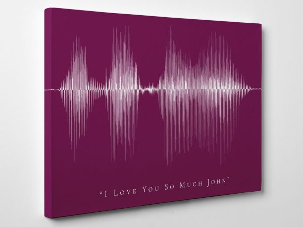 I Love You Voice Wave