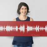 Want Your Favorite Song on Your Wall? Capture it with Sound Wave Art