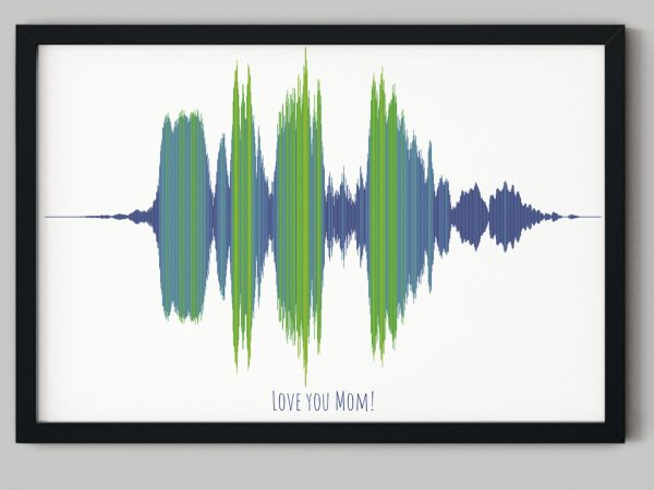 sound wave gift for mom