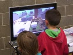 Having a go in our virtual Skerries