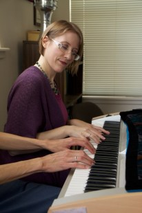 PianoDuet1-199x300 How Music Therapy Helps  Longmont Mental Health Counseling