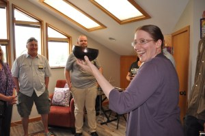 Celebrating SoundWell Music Therapy's new office space in Longmont