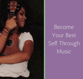 In music therapy you may use a ukelele in order to meet your therapeutic goals