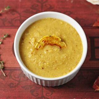 Roasted Cauliflower Squash Soup 3