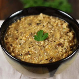 Ancient Grains & Mushroom Soup 1