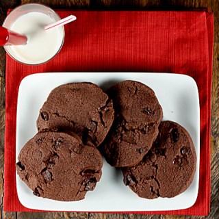 Chocolate Chocolate Sable Cookies 3