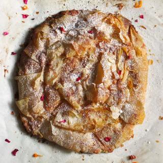 M'hanncha: Moroccan Snake Cake | SoupAddict.com