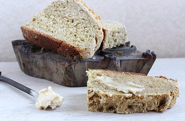 honey oat soda bread 4