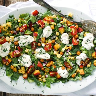Summer chopped salad from SoupAddict.com