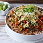 Cheesy Chicken Enchilada Bowls | SoupAddict.com
