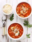Chicken Parmesan Soup | SoupAddict.com