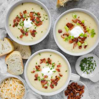 Instant Pot Loaded Potato Soup