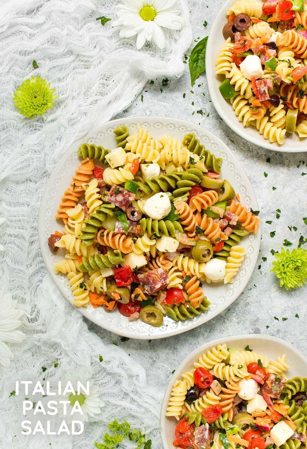 Italian Pasta Salad - Recipe at SoupAddict.com