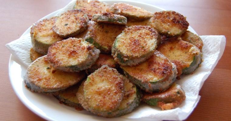 Pan Fried Zucchini