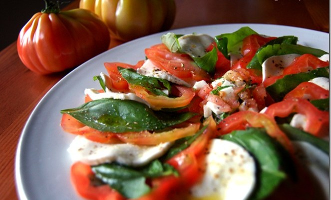 Insalata Caprese (or, Caprese Salad).