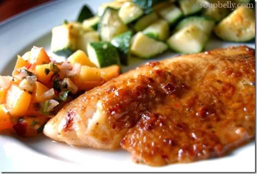 Broiled Tilapia with Lime Chipotle Marinade