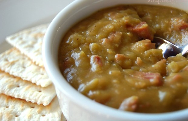 Split Pea Soup (no bacon, just ham)