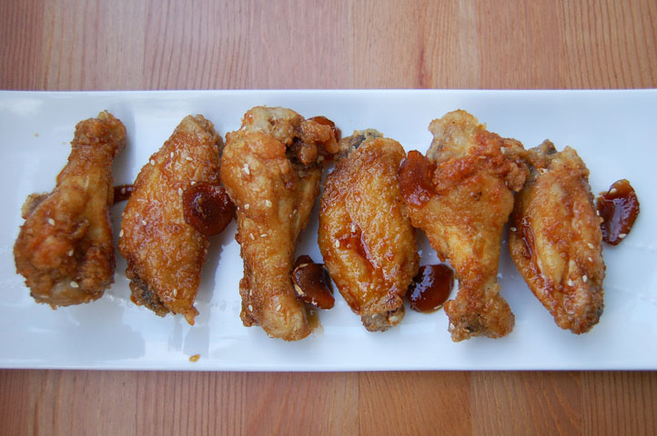 Sweet Korean Fried Chicken Wings - Soupbelly