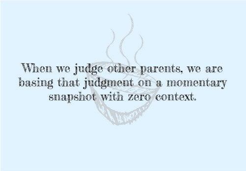 Judging Parents