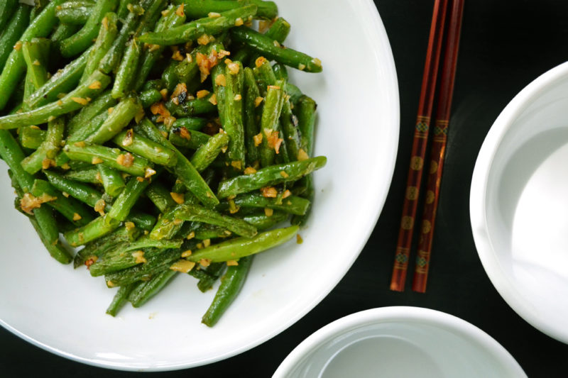 Chinese Stir Fried Green Beans