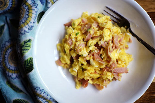 creamy scrambled eggs 3
