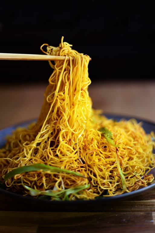 Cantonese soy sauce noodles 3