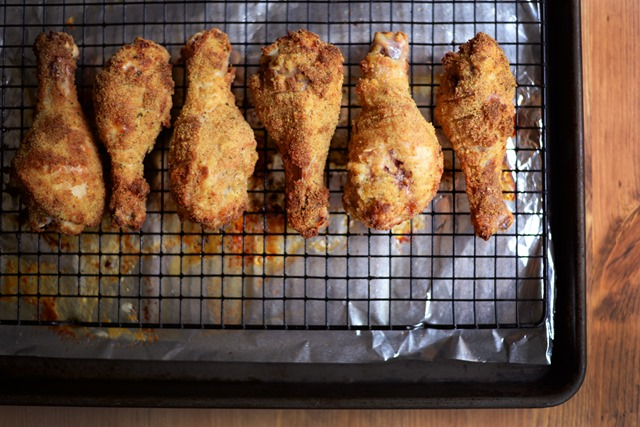 oven fried chicken drumsticks 3