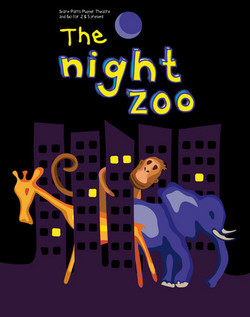 Night Zoo poster (Spare Parts Puppet Theatre)