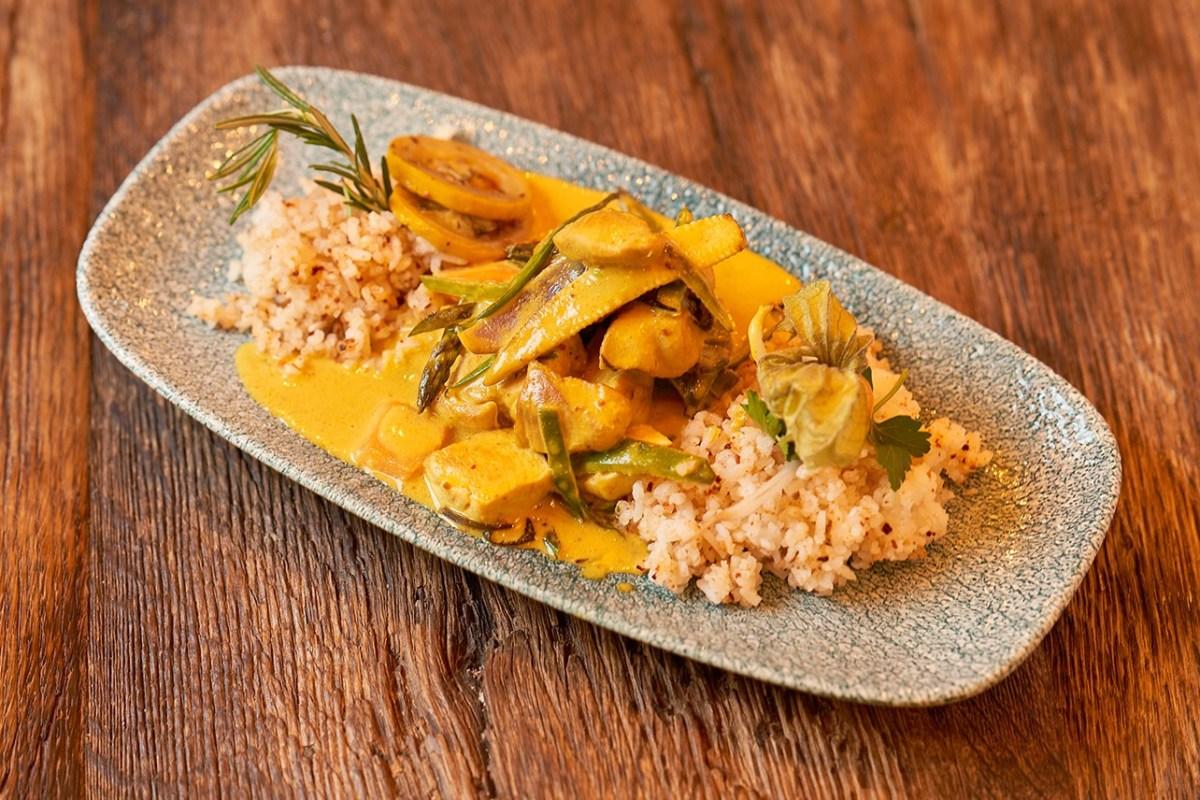 Geflügel-Curry
