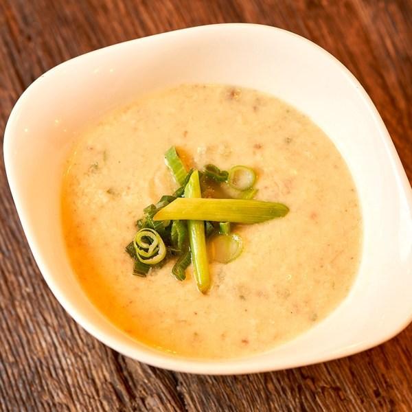 Käse-Hackfleisch-Suppe