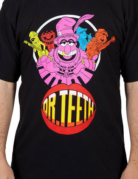 Dr Teeth – Muppets T-Shirt