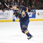 Rasmus Andersson of the Barrie Colts. Photo by Aaron Bell/OHL Images