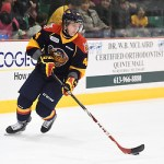 Travis Dermott of the Erie Otters. Photo by Aaron Bell/OHL Images